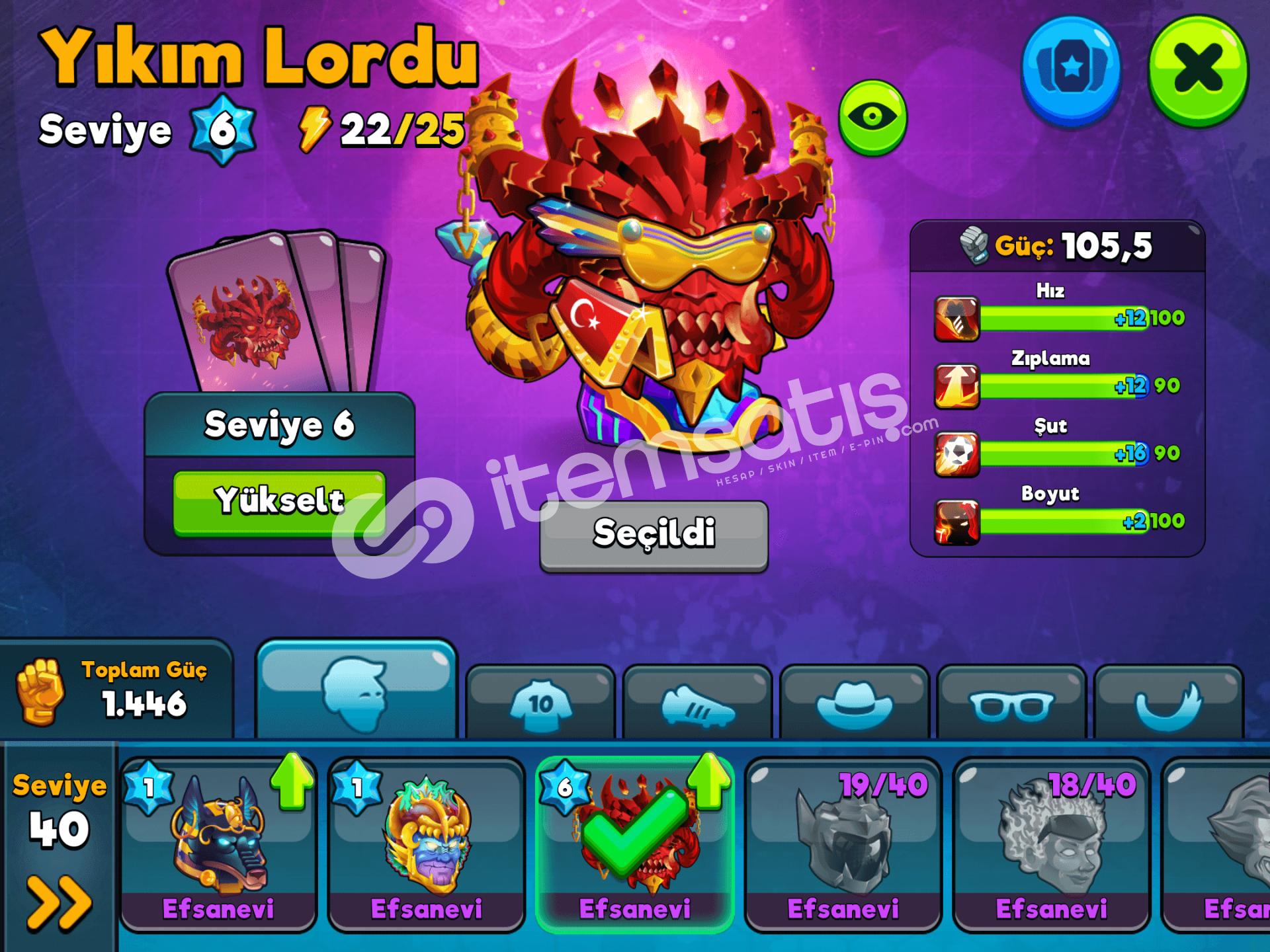 6 sw yıkım lordlu hesap