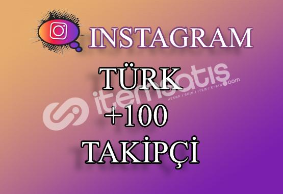 100 Instagram Türk Takipçi | Hemen Teslim