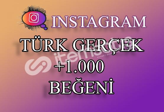 1000 Instagram Türk Beğeni | Keşfet Etkili