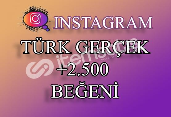 2500 Instagram Türk Beğeni | Keşfet Etkili