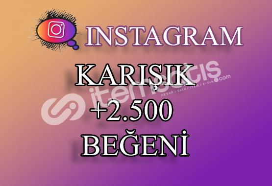 2500 Instagram Beğeni Karışık | Keşfet Etkili