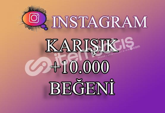 10000 Instagram Beğeni Karışık | Keşfet Etkili