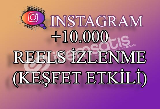 10000 Instagram Reels İzlenme | Keşfet Etkili