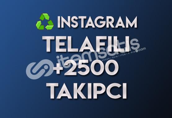 ♻️ 2.500 Telafili Takipçi (TELAFILI)