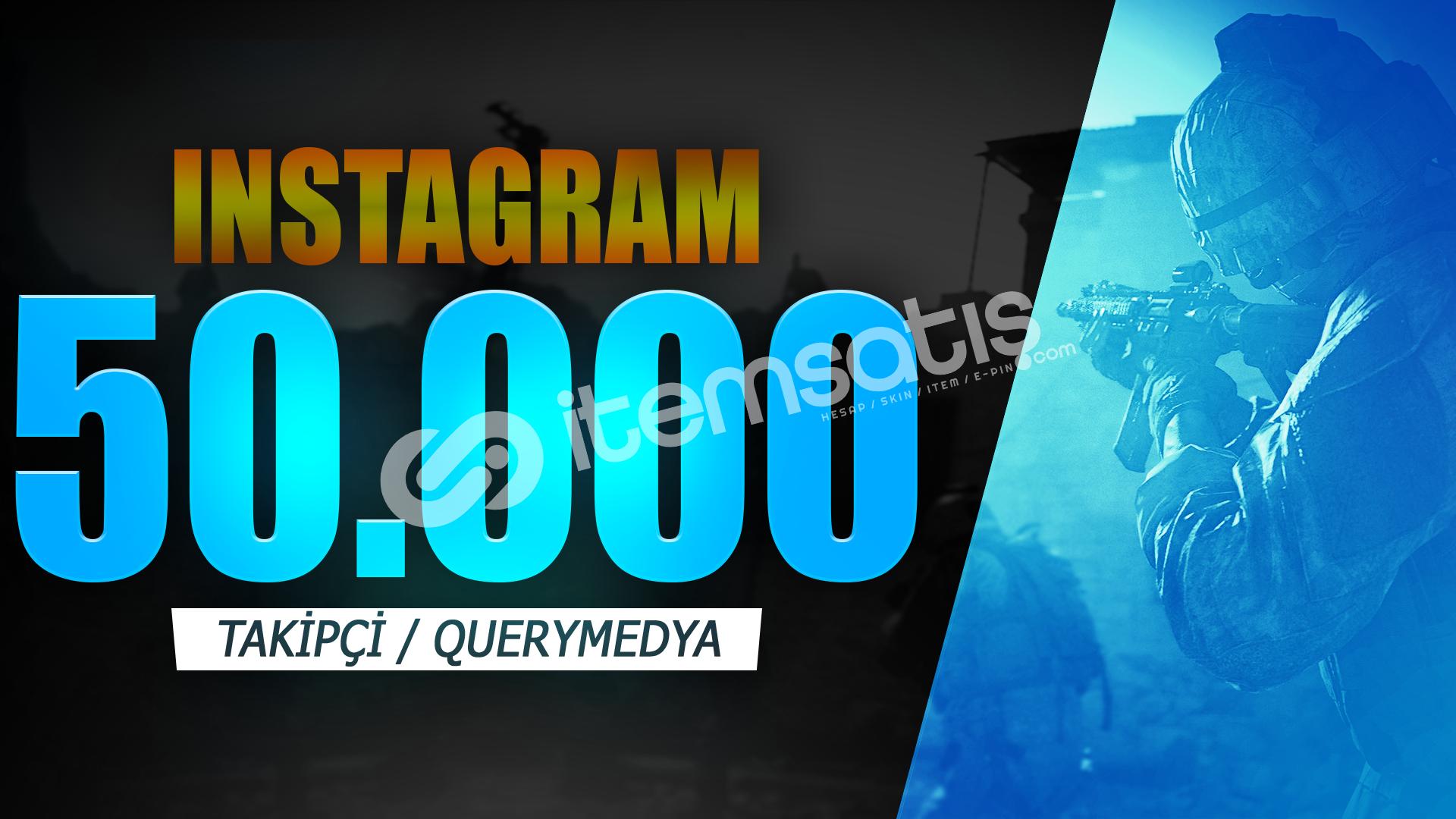 50.000 TAKİPÇİ | İNDİRİM | ANLIK