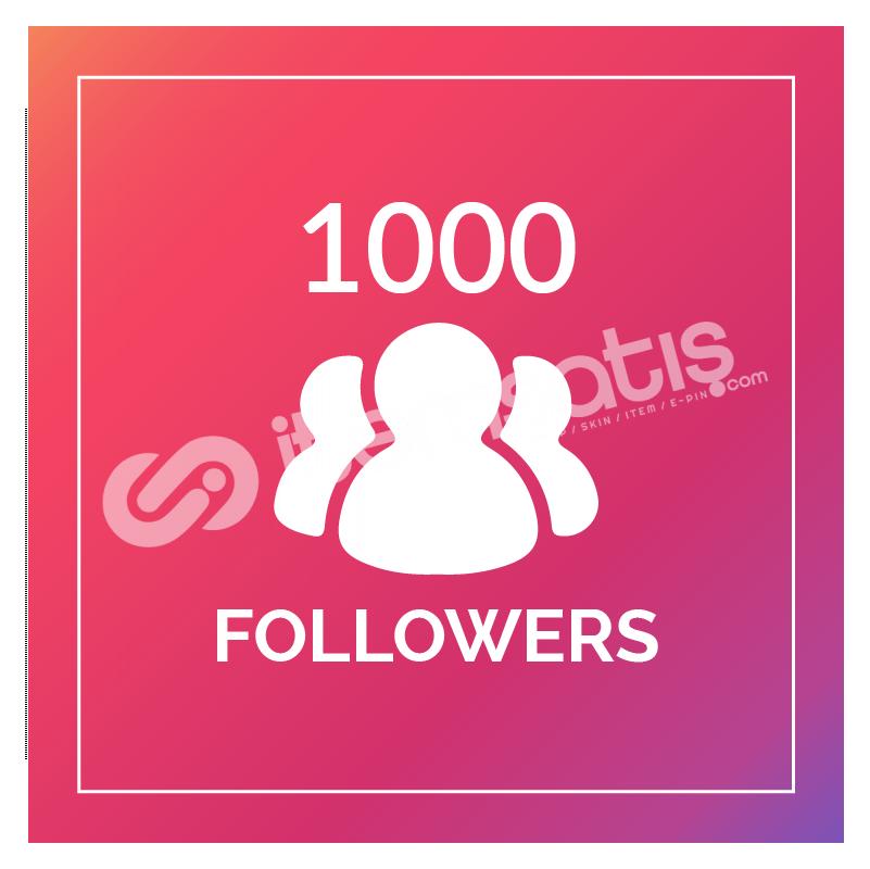 1.000 TAKİPÇİ KALİTELİ | HIZLI GÖNDERİM !!