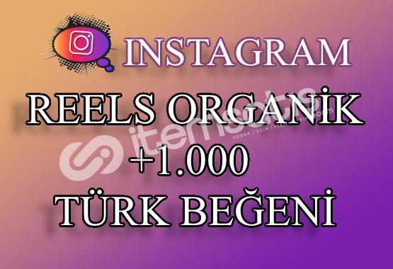 1000 Instagram Reels Türk Beğeni | Keşfet Etkili