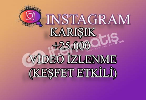 25000 Instagram Video İzlenme | Keşfet Etkili