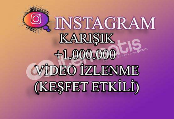 1000000 Instagram Video İzlenme | Keşfet Etkili
