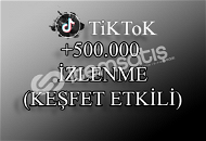 500000 TikTok İzlenme | Keşfet Etkili
