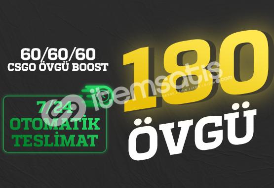 FIRSAT! 180 Övgü +60/+60/+60 ÖVGÜ BOOST