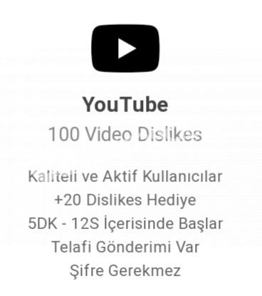 100 vidyo dislike dikkat edin disslike