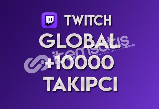 ♻️ 10.000 Global Twitch Takipçi (TELAFİLİ)