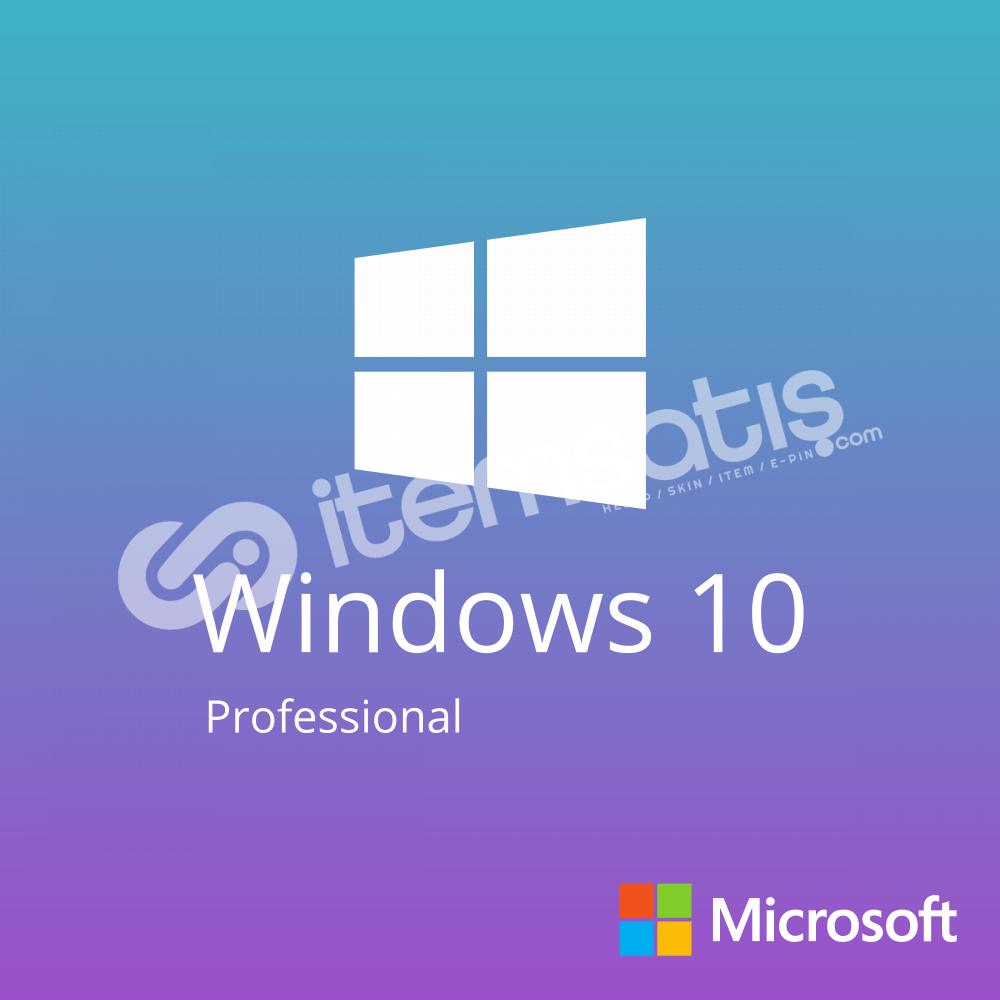 Windows 10 Pro Dijital Anahtar ( Anında Teslimat )