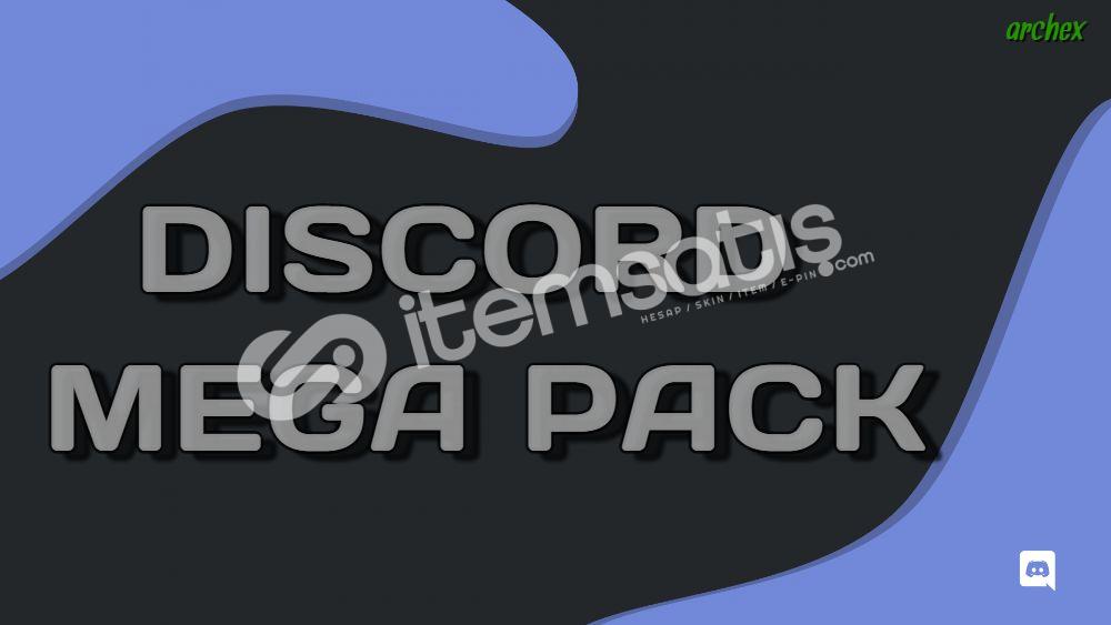 Discord Mega Pack / Methodlar ve Tüm Discord Bilgileri