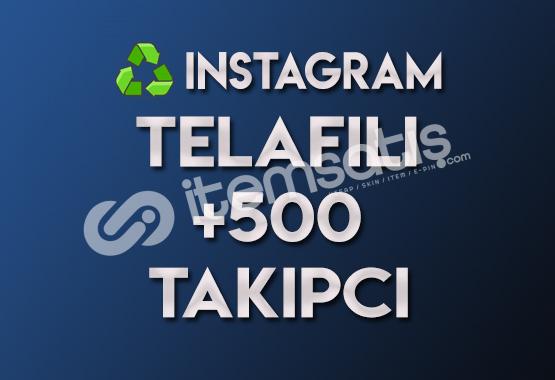 ♻️ 500 Telafili Takipçi (TELAFILI)