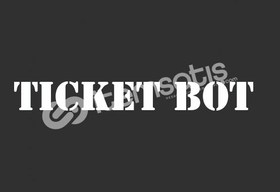 Discord Emojili Ticket Botu