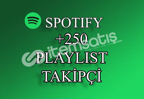 250 Spotify Playlist Takipçi   Hızlı Teslimat