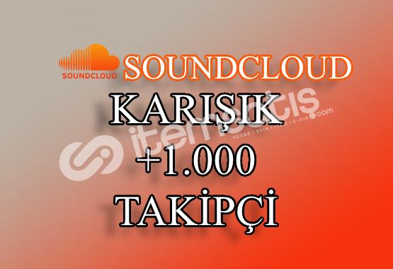 1000 SoundCloud Takipçi | Hemen Teslim