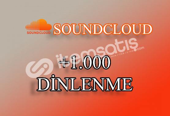 1000 SoundCloud Dinlenme | Hemen Teslim