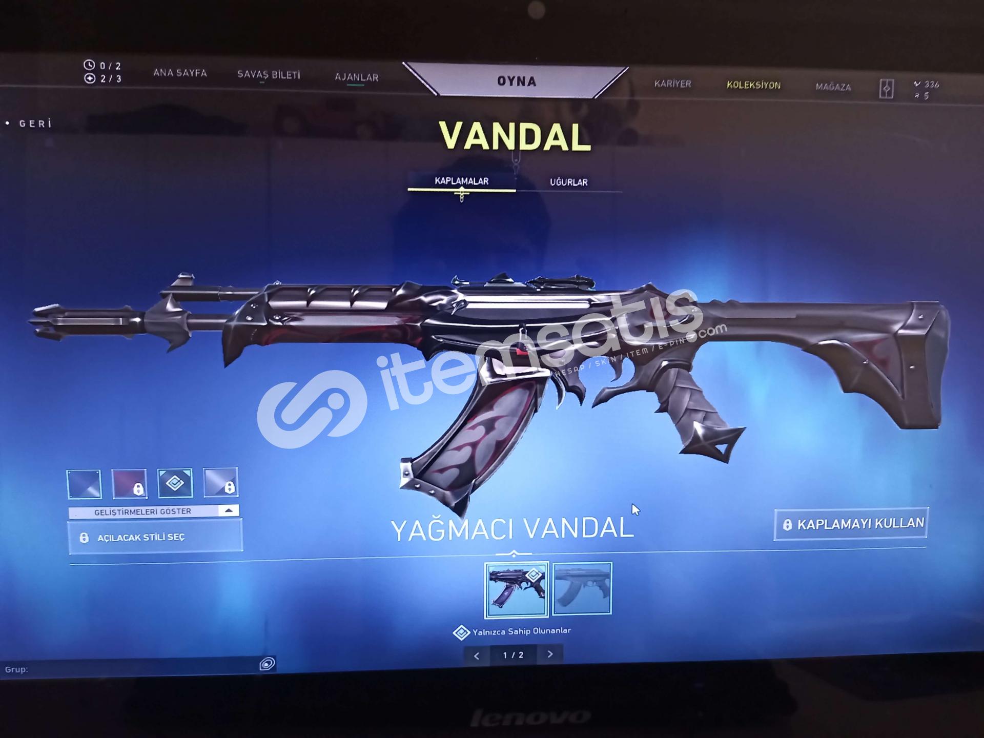 Yağmacı Vandal+İyon Operatör+300 Vp