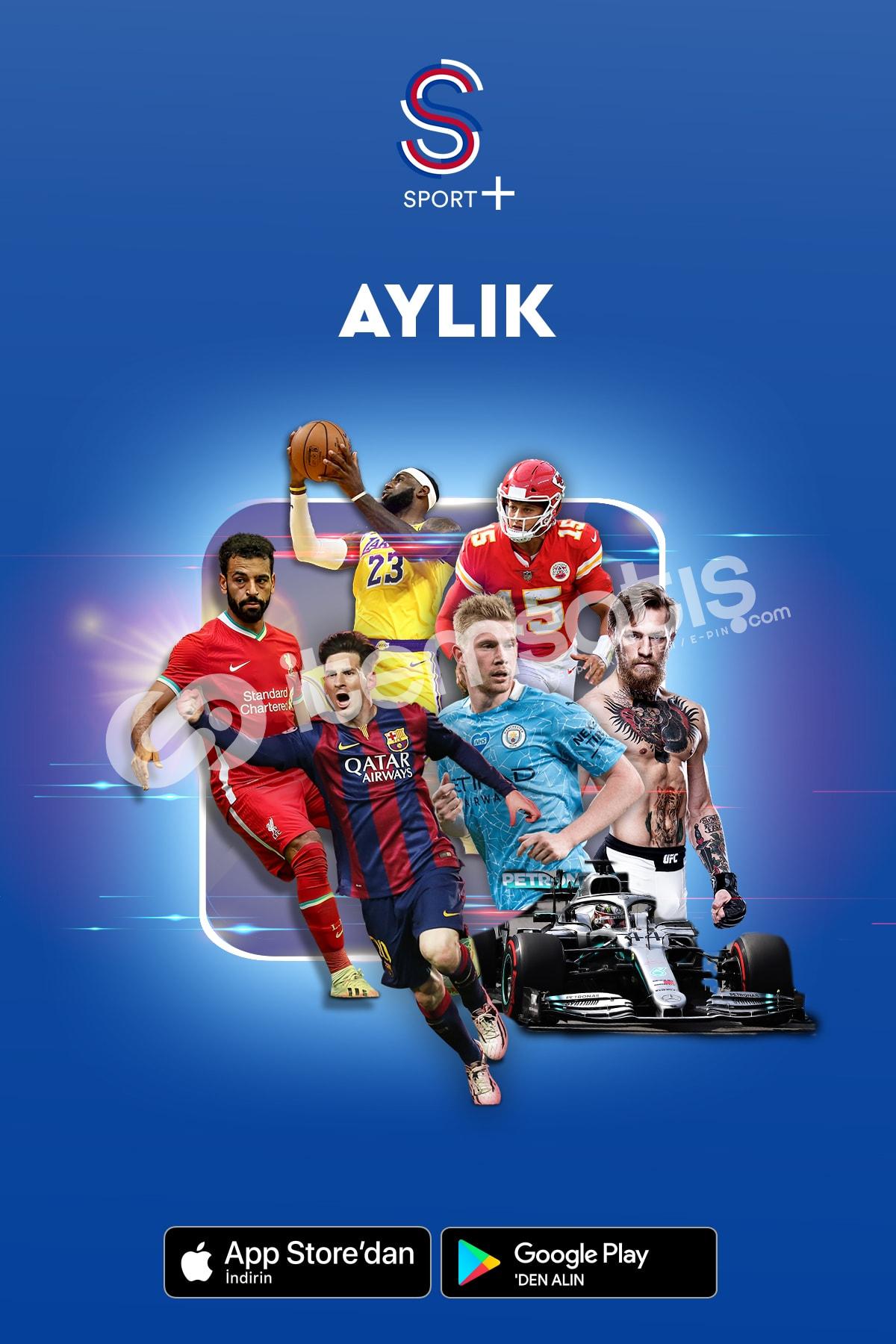S Sport Plus 1 Aylık Paket - Promosyon Kodu