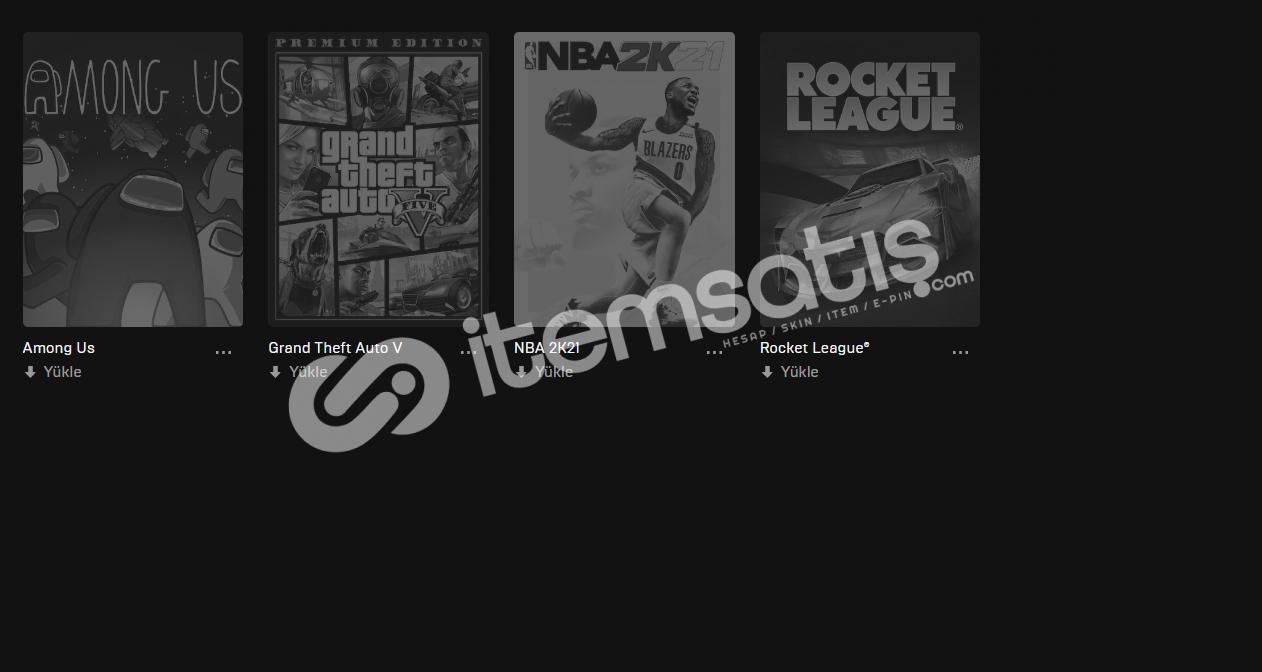 GTA5 - NBA2K - AMONG US - ROCKET LEAGUE