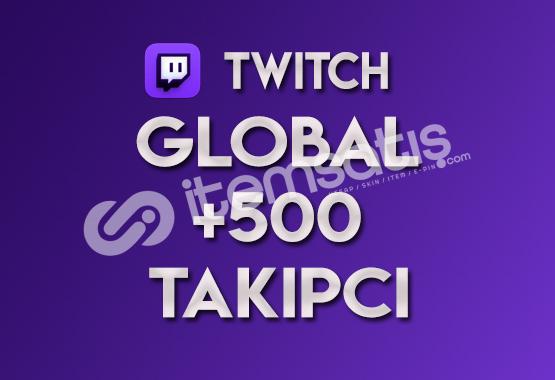 ♻️ 500 Global Twitch Takipçi (TELAFİLİ)