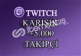 5000 Twitch Takipçi | Seri Teslimat