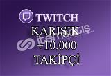 10000 Twitch Takipçi | Seri Teslimat