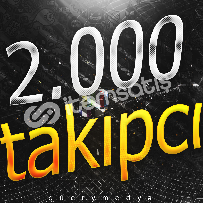 ♻️ İNSTAGRAM TELAFİLİ 2.000 TAKİPÇİ | 15 GÜN TELAFİ