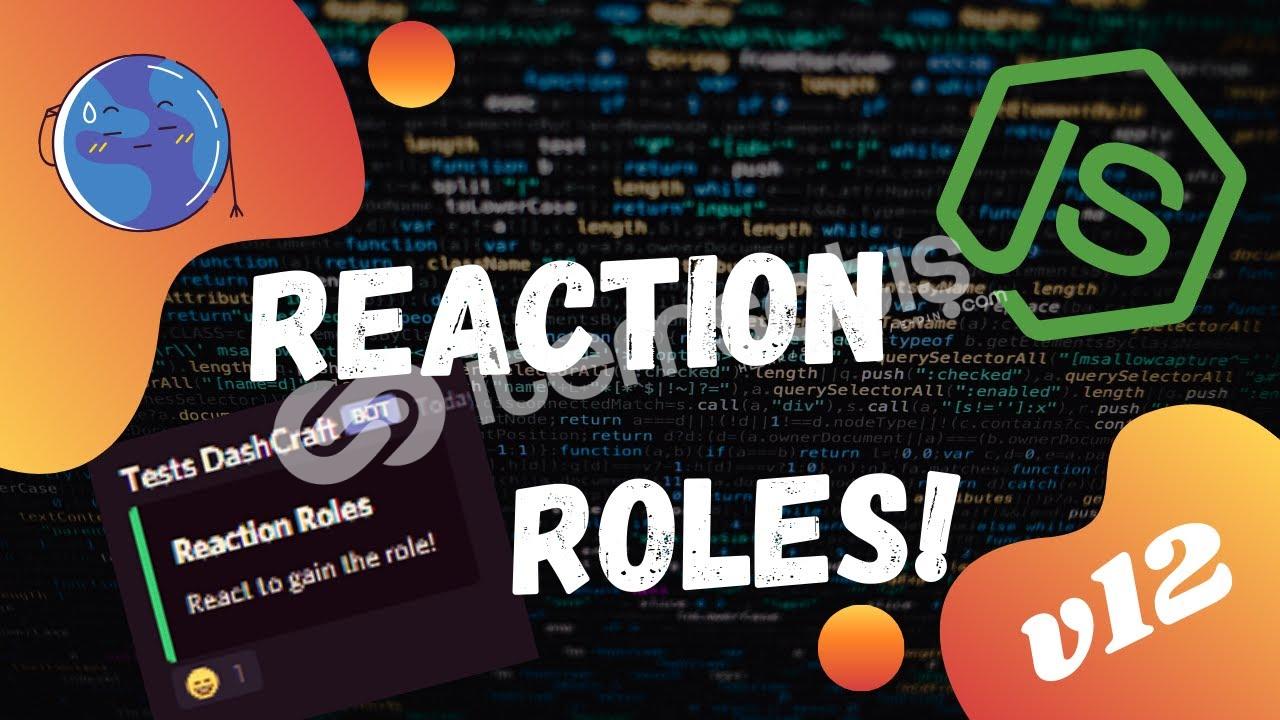Reaction Role Bot Altyapısı AÇIKLAMAYI OKUYUN