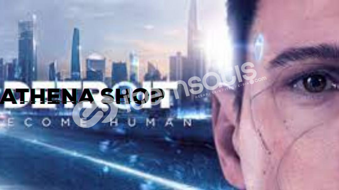 Detroit Become Human Sadece 3 tl!