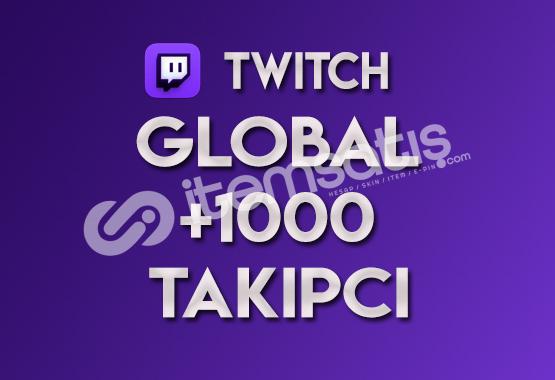 ♻️ 1.000 Global Twitch Takipçi (TELAFİLİ)