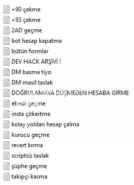 İNSTAGRAM EĞİTİM SETİ (AÇIKLAMAYA BAK !!!)