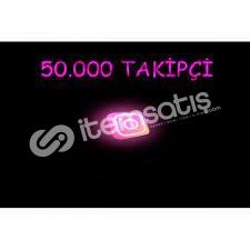 İNSTAGRAM 50.000 TAKİPÇİ