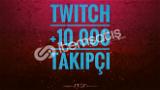 Twitch +10.000 Global Takipçi