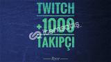 Twitch +1000 Global Takipçi