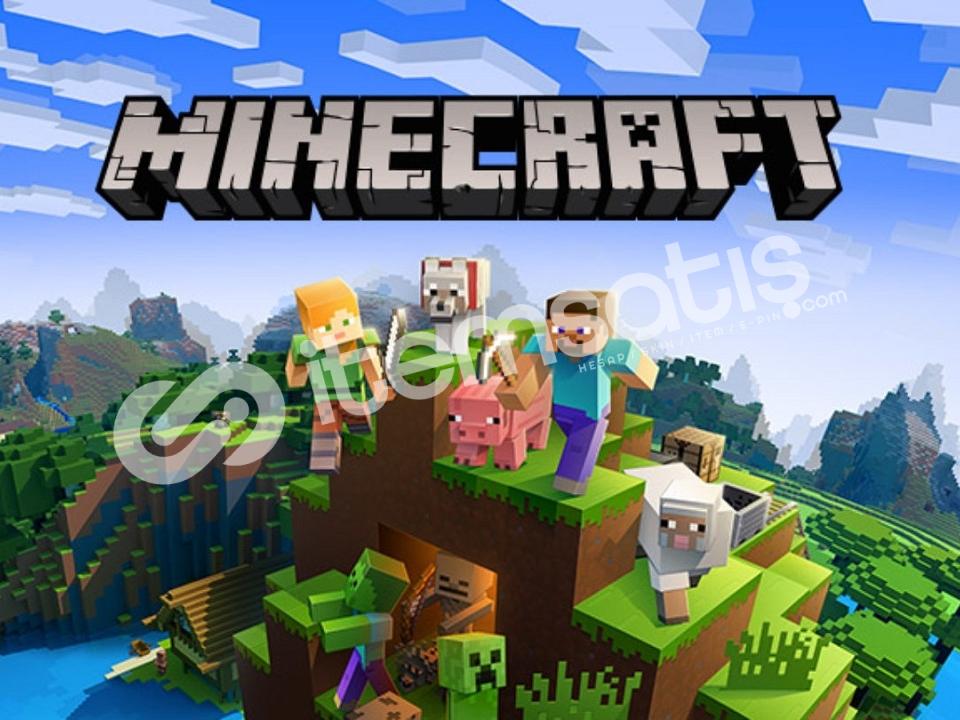 Minecraft Elmas Premium Garanti ve Hediye
