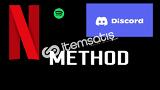Spotify Discord Netflix Ve Daha Çok Method Paketi