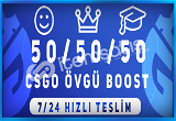 KAÇIRMAA ! 150 ADET ÖVGÜ BOOST HİZMETİ 7/24 HIZLI TESLİM !