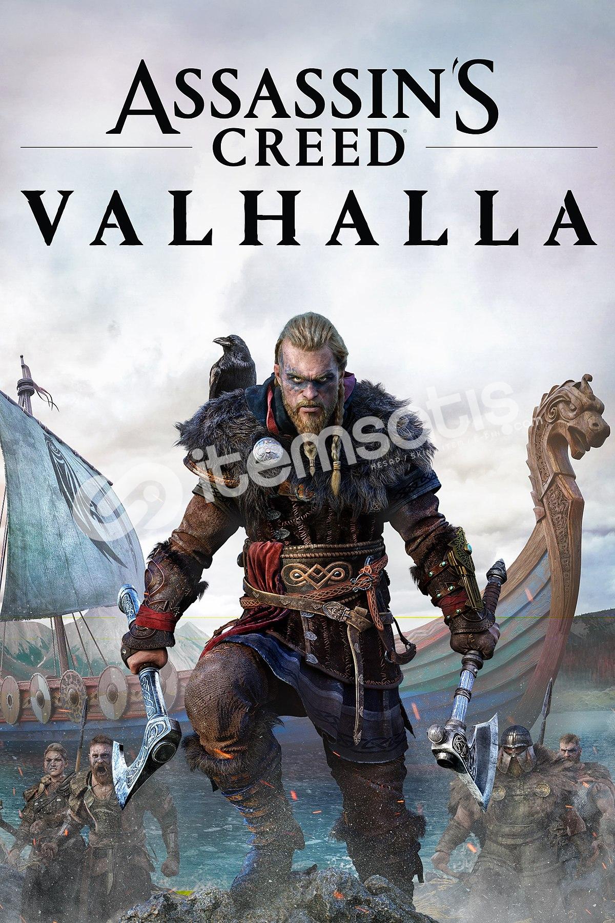 Assassin's Creed Valhalla + Rainbow Six Siege + Watch Dogs 2