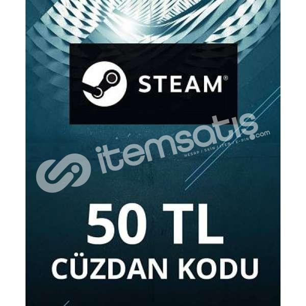 STEAM 50 TL CÜZDAN KODU