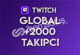 ♻️ 2.000 Global Twitch Takipçi (TELAFİLİ)