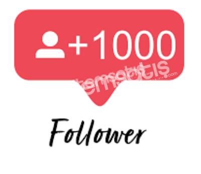 İnstagram +1000 Takipçi (Güvenilir)