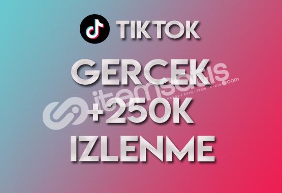 250.000 Tiktok İzlenme (KEŞFET ETKİLİ)
