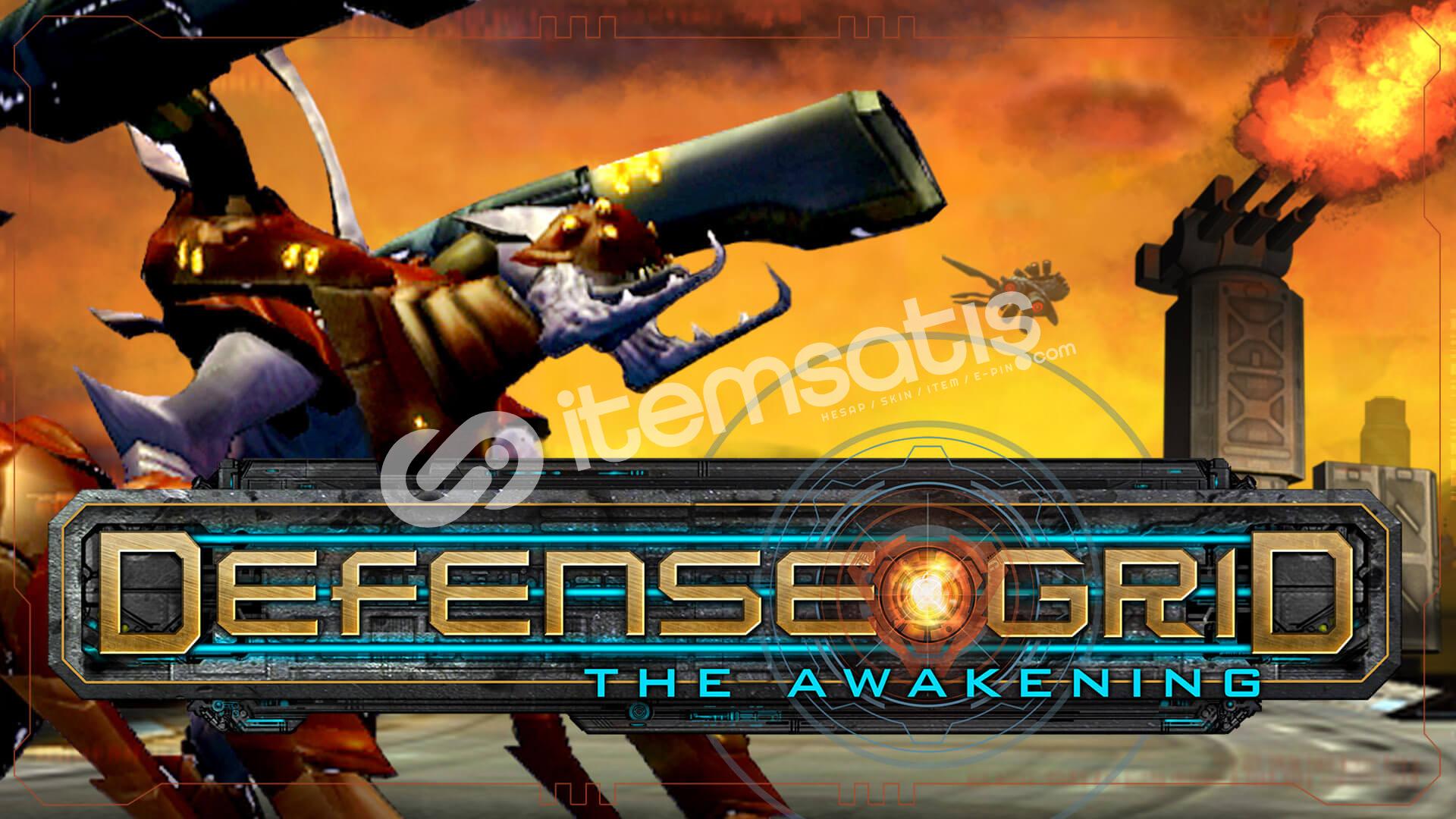 Defense Grid: The Awakening Epic Games Hesabı
