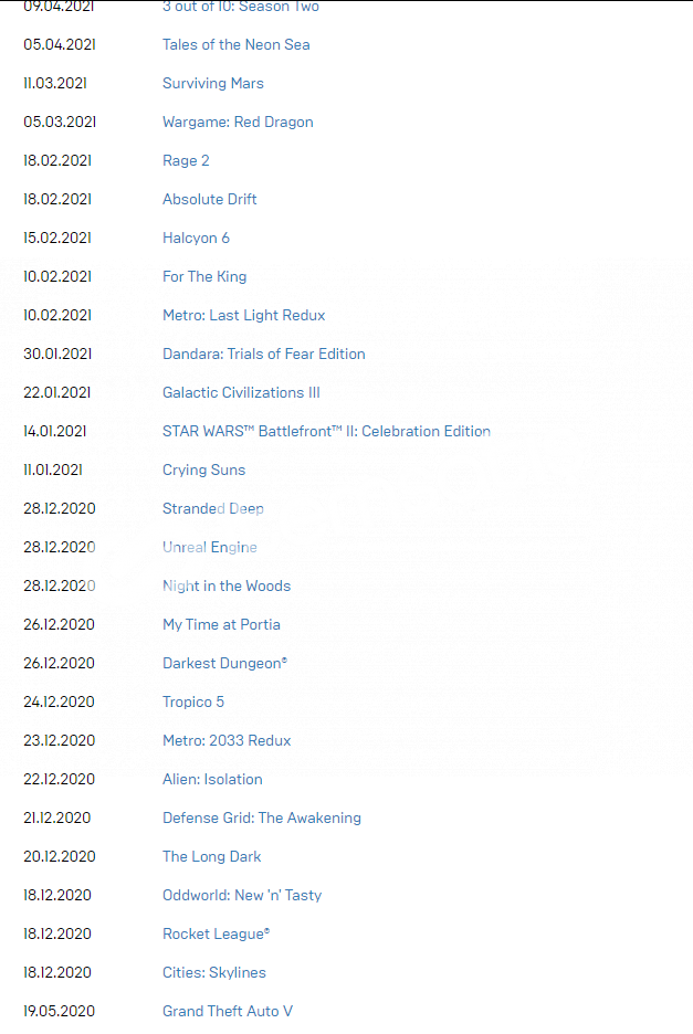 Mailli 3244 TL değerinde Epic Games hesabı 100TL