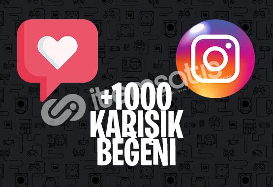1000 KARIŞIK BEĞENİ | KEŞFET ETKİLEŞİMLİ