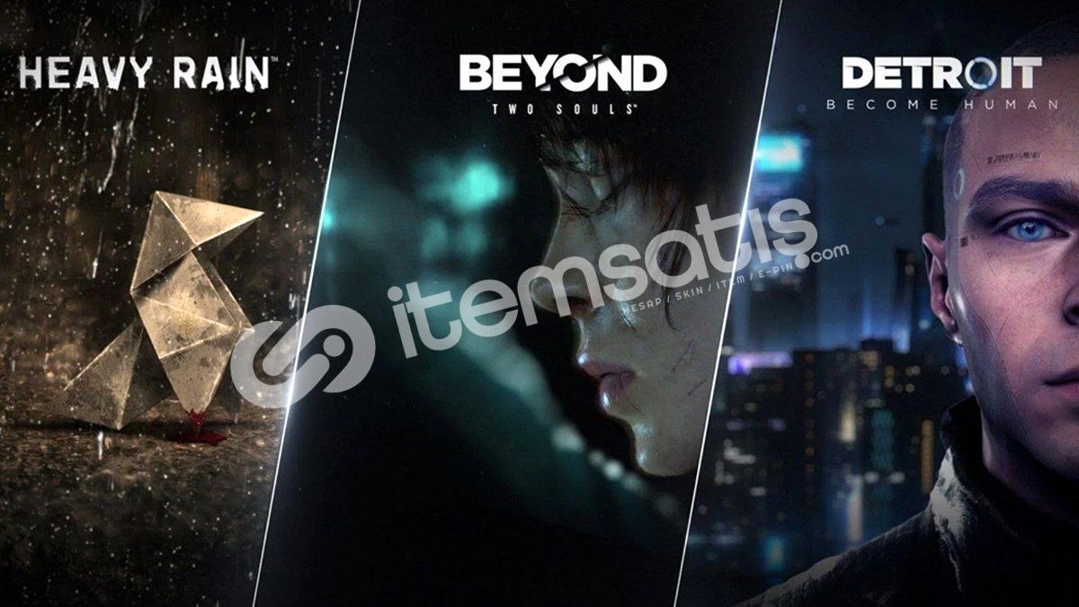 Beyond: Two Souls Heavy Rain ve Detroit: Become Human